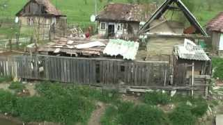 Download Gypsy village of Transylvania Video