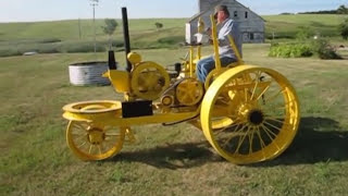 Download 1917 Restored Tractor on Steel Video