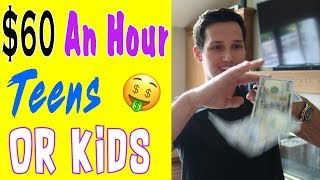 Download How To Make Money ($60 An Hour) As A Kid Or Teenager Video