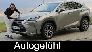 Download All-new Lexus NX 300h compact SUV FULL REVIEW test driven 2016 - Autogefühl Video