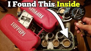 Download Is the Salvage Auction Ferrari's Engine Bad? I Started Taking it Apart and Found Multiple Issues! Video
