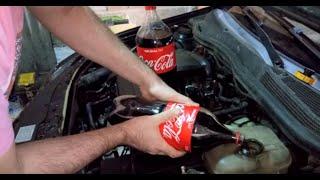 Download Motor Suyuna ANTİFİRİZ Yerine Coca Cola Döktük :D !! Sonuç HÜSRAN!! Radyatör PATLADI!! Yaparım Dedim Video