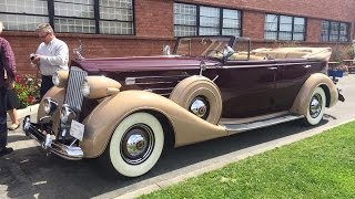 Download Riding In A 1937 Packard V12 Video