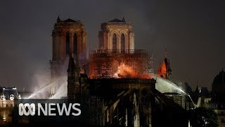 Download Notre Dame fire: The cathedral's priceless relics and religious significance | ABC News Video