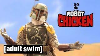 Download 4 Classic Boba Fett Moments   Robot Chicken Star Wars   Adult Swim Video