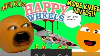 Download Annoying Orange Plays HAPPY WHEELS: MORE Knife Levels!! Video