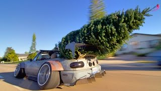 Download Christmas Tree Shopping In Stanced Miata Video