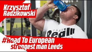 Download Krzysztof Radzikowski Trening #Road to European Strongest Man Leeds 2018 Video
