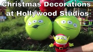 Download Christmas Decorations at Hollywood Studios Video