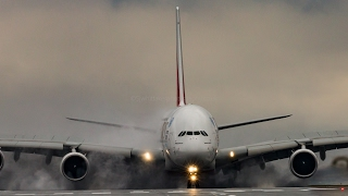 Download A380 massive reverse thrust must watch until the end Video