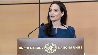Download Angelina Jolie in defense of internationalism - Sergio Vieira de Mello Lecture 2017 Video