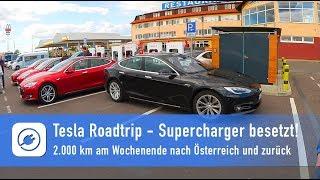 Download Tesla Alpen-Roadtrip - Schock: Supercharger komplett besetzt, Chaos in Hohenwarsleben Video