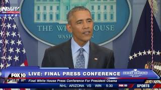 Download Did Obama Put Trump on BLAST During His FINAL News Conference? Addresses Freedom of the Press Video
