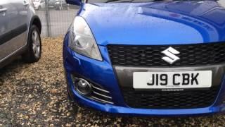 Download 2015 Suzuki Swift 1.6 Sport 3dr J19 CBK at St Peter's Suzuki Worcester Video