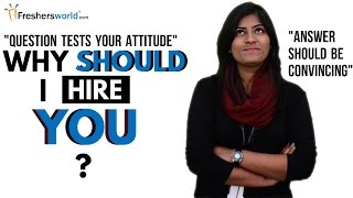 Download WHY SHOULD I HIRE YOU? INTERVIEW QUESTION Video