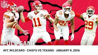 Download 2015 AFC Wild Card Playoffs: Chiefs vs. Texans (FULL GAME) | #FreeGameFriday | NFL Video