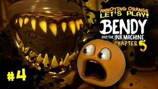 Download BENDY & the Ink Machine Ch. 5: THE END?!?!?!?!! [Annoying Orange Plays] Video