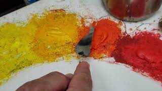 Download The horrible waste of oil paint on a palette - See How to Remove the Dried Skin and Keep Painting! Video