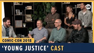 Download Young Justice - SDCC 2018 Exclusive Interview Video
