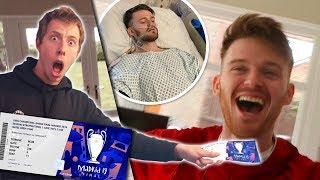 Download SURPRISING MY BEST FRIEND WITH CHAMPIONS LEAGUE FINAL TICKETS! Video