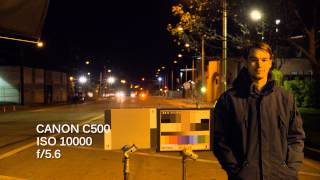 Download Canon C500 vs Arri Alexa ISO Night Tests Video