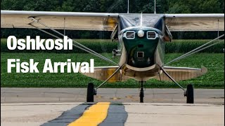 Download Fisk Arrival Oshkosh 2017 in a Cessna 170 Video