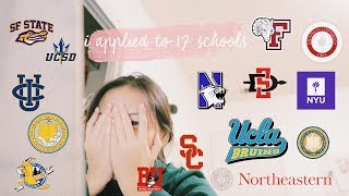 Download i applied to 17 schools...and this is the result | college decision reactions 2019 Video