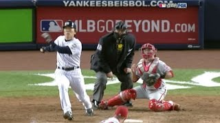 Download WS 2009 Gm 6: Matsui stretches lead with two-run hit Video