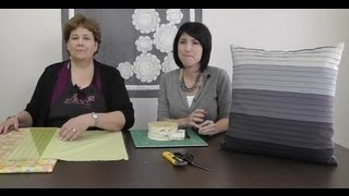 Download Faux Pleated Pillow Tutorial by V and Co. with Jenny Doan Video