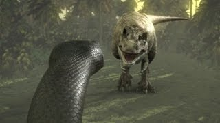 Download Titanoboa: Monster Snake - Titanoboa Vs. T-Rex Video