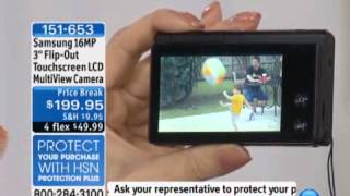 Download Samsung 16MP 3″ Flip-Out Touchscreen LCD MultiView Camera Video