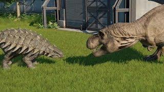 Download T-Rex VS Ankylosaurus - Jurassic World Evolution Video