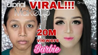 Download Tutorial makeup BARBIE | makeup kekinian | RindyNellaKrisna Video