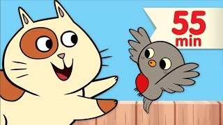 Download Little Robin Redbreast + More | Nursery Rhymes & Children's Songs | Super Simple Songs Video