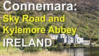 Download Connemara, Sky Road, Kylemore Abbey, Ireland Video