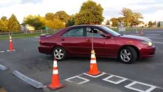 Download Practise Parallel parking of a car in NJ Video