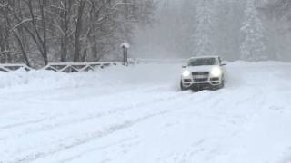 Download Audi Q7 3.0 TDI Funny & Snow in 4k - Sulla Neve Video