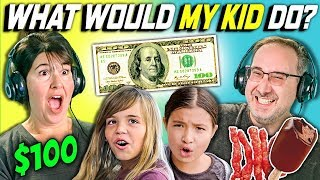 Download CAN PARENTS GUESS WHAT THEIR KID DOES WITH 100 DOLLARS? Ep. # 2 Video