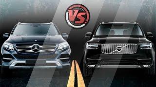 Download 2hp: Mercedes-Benz GLE Vs Volvo XC90 Video