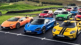 Download The Final 7 Cars - Performance Car of the Year 2017 - Top Gear Video