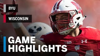 Download Highlights: BYU vs. Wisconsin | Big Ten Football Video