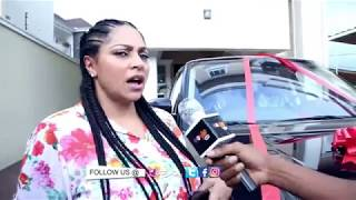 Download Peter Okoye aka Mr P surprises his wife Lola Omotayo-Okoye with a Range Rover Video