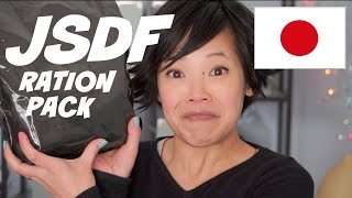 Download Japanese Self-Defense Forces Ration Pack (JSDF) - Japanese MRE Video