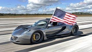 Download World's Fastest: 270.49 mph Hennessey Venom GT Video