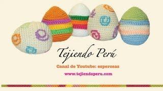 Download Huevos de Pascua tejidos en crochet o amigurumi (Easter eggs) Video