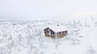 Download Ultra Private Ski Chalet in Lapland, Finland Video