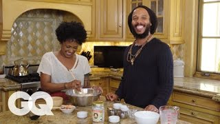Download Ziggy Marley Cooks You Breakfast: Pancakes | GQ Video