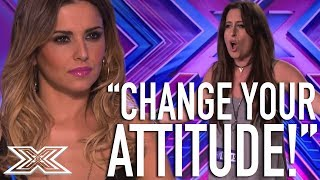 Download Cheryl Clashes With Contestant | X Factor Global Video