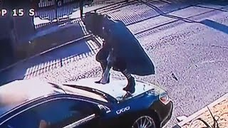 Download Woman Attacks Car For SIX HOURS (VIDEO) Video