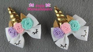 Download Par de Mini Moños Unicornio | Anita Manualidades Video